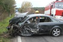 Три автомобила се сблъскаха във верижна катастрофа