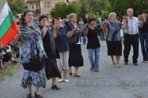 Съборът в Орешник завърши с илюминации