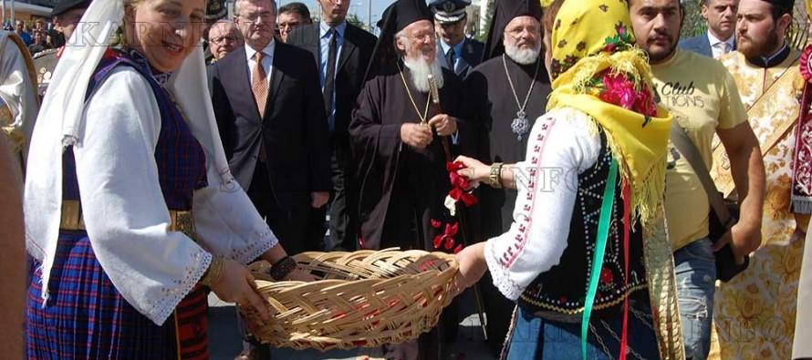 Вселенският патриарх Вартоломей пристигна в Орестиада
