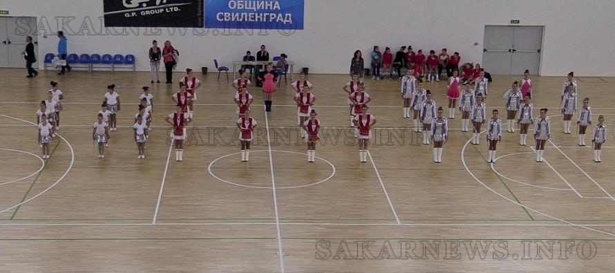 Мажоретки подариха танци за Празника на Свиленград