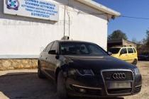 Конфискуваха скъпо Ауди на българин, превозващ нелегални емигранти