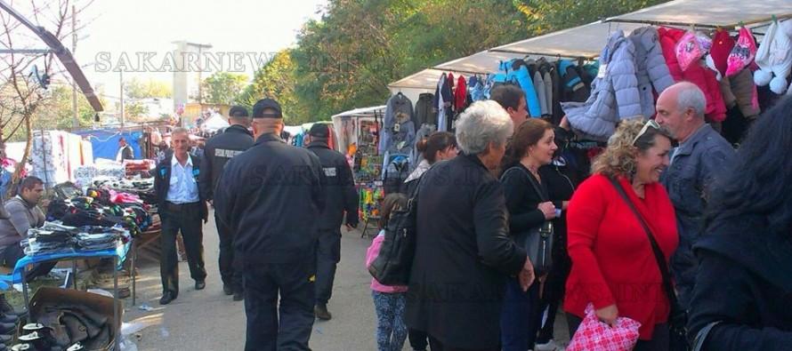 Полицията конфискува стока от панаира в Харманли