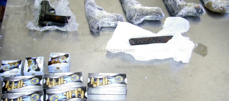 Митничари откриха пистолети в Рено
