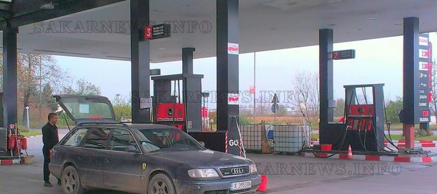Харманлиец вилня с брадва на бензиностанция