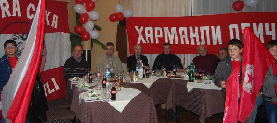 Легенди на ЦСКА уважиха тържеството на фен клуба на червения отбор