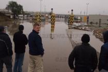 Реките прииждат, затвориха границата с Турция