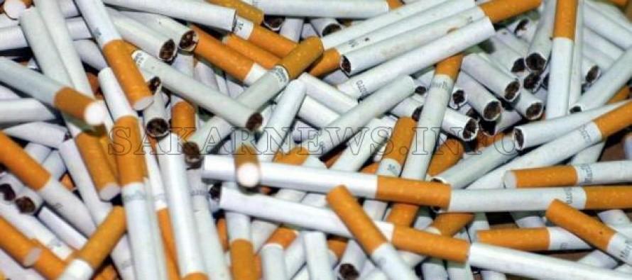Хванаха 400 000 къса контрабандни цигари в камион с авточасти