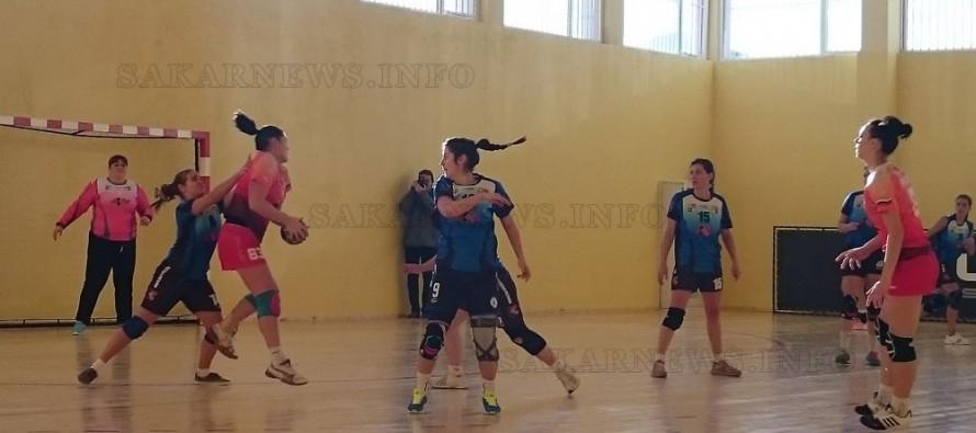 """Заслужена победа на хасковските хандбалистки  над """"Поморие"""""""