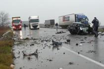 Катастрофа уби двама души край Свиленград