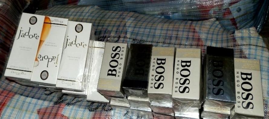 Контрабандни парфюми и фалшиви стоки за 2,2 млн. лв. задържаха  на Капитан Андреево