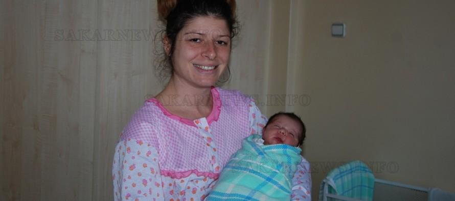 Майката на първото бебе в Харманли също е от Любимец