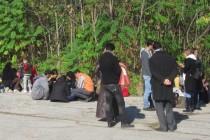 Заловиха 14 нелегални бежанци край Харманли