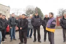 Охраната на бежанския лагер в Харманли  без заплати няколко месеца