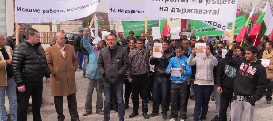 Дървосекачи излязоха на протест срещу забранения износ