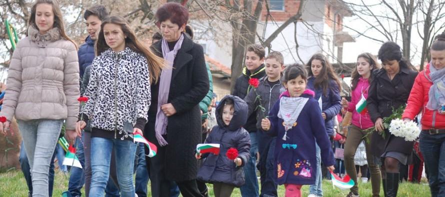 Харманлиийци почетоха  паметта на загиналите за свободата