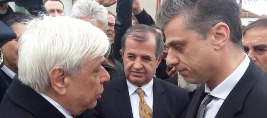 Гръцкият президент на 3 км от българската граница