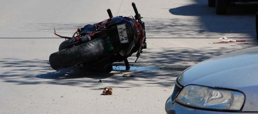 Моторист пострада при катастрофа
