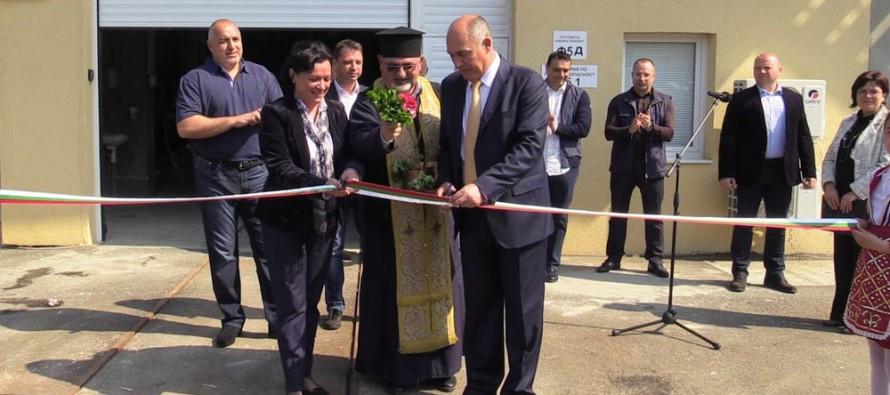 Борисов сред гостите при откриването на пречиствателна станция в Свиленград