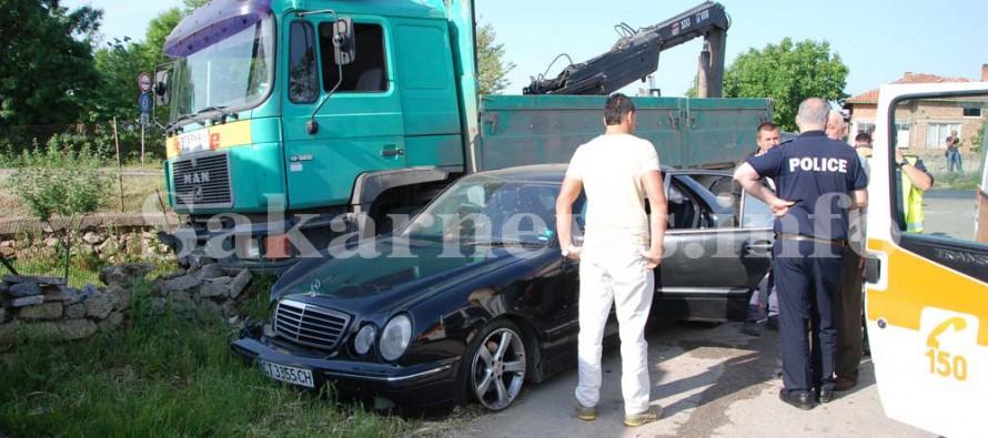 Старозагорският владика пострада при катастрофа край Симеоновград