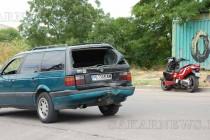 Моторист и спътничката му пострадаха леко при ПТП