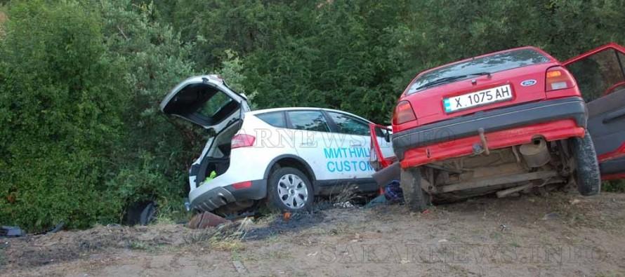 Катастрофа между два автомобила отне човешки живот