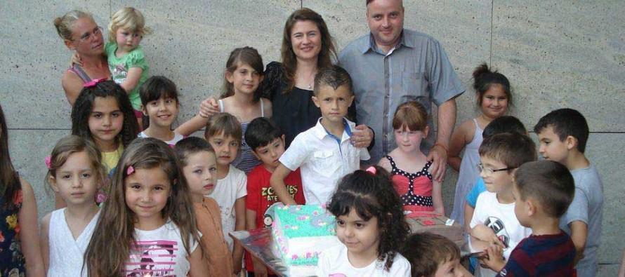 Децата на Харманли посрещнаха своя празник