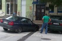 Гръцка кола пропадна в българска шахта
