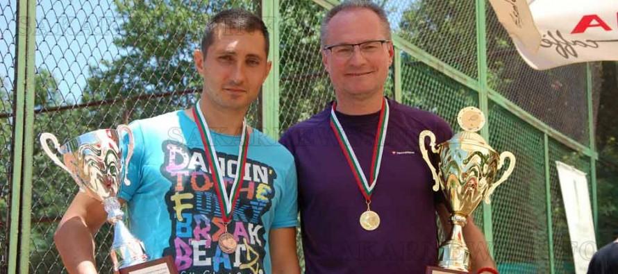 Председателят на ВКС стана първи на тенис турнир в Харманли