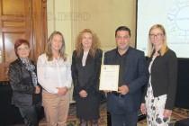 Читалище в Свиленград получи награда за най-добър трансграничен проект