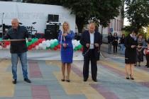 Откриха обновения площад на Тополовград