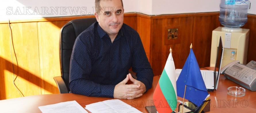 """Васил Сяров: """"Надявам се на успешен и  ползотворен мандат за общината"""""""