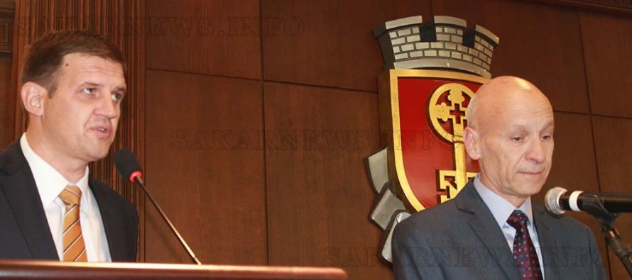 Добри Беливанов встъпи в длъжност като кмет на Хасково