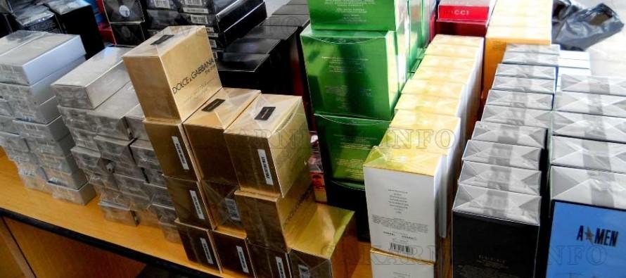 Хиляди фалшификати на световноизвестни марки  задържаха на  Капитан Андреево
