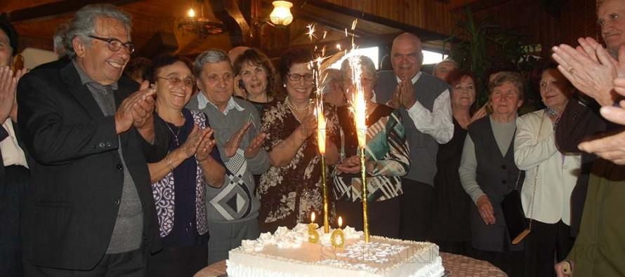 Тържество събра 20 двойки, оженили се преди половин век