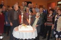 Златни сватби събраха женени от 50 години в Харманли