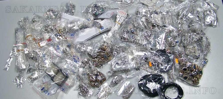 Близо 10 кг сребърни бижута конфискуваха на Капитан Андреево