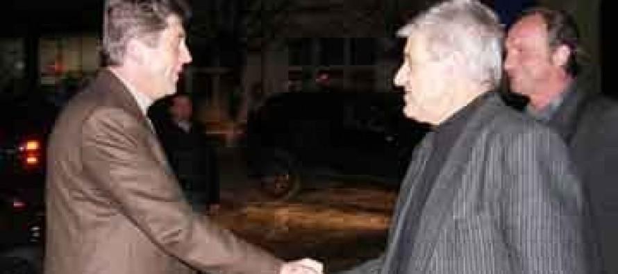 Президентът Георги Първанов ловува из Сакара