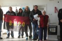 От ВМРО дариха печка на старческия дом
