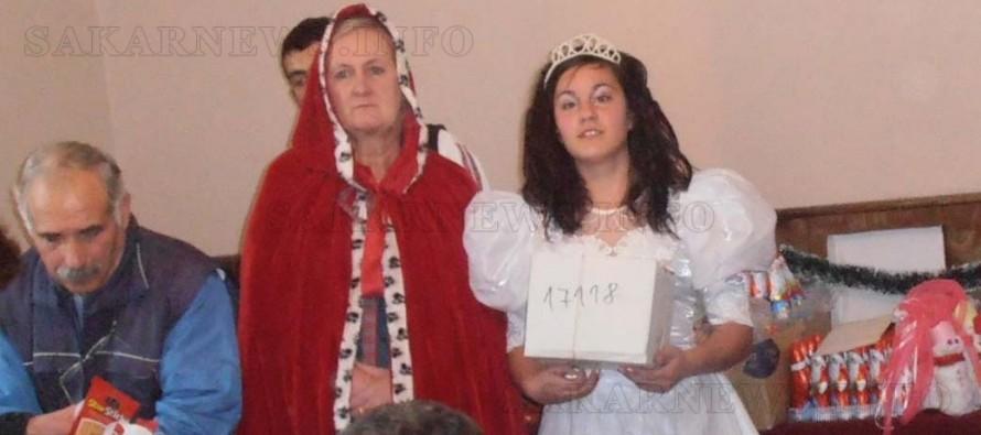Англичанка пее фолклорни песни в Княжево
