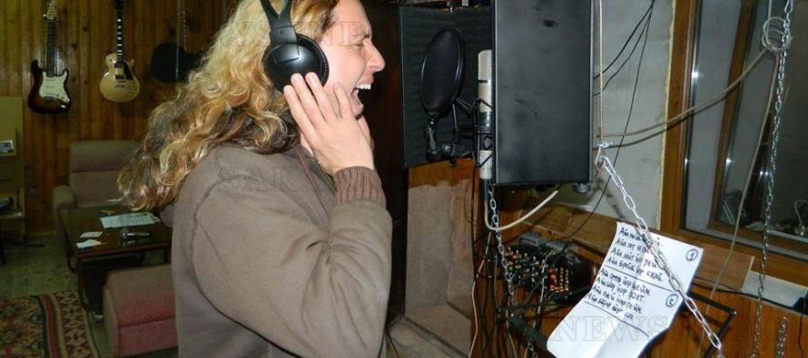 "Звукозаписното студио ""Mataka Records"" в разгара на рок записите"