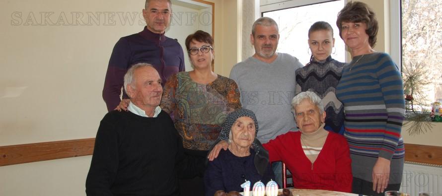 Баба Нойка от село Поляново  навърши 100 години