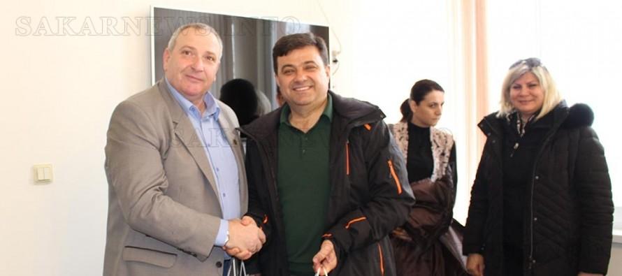 Кметът на Любимец посрещна гости от Турция