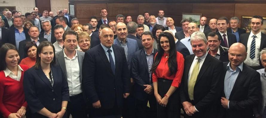 """Бойко Борисов в Хасково: """"Няма конфликт в ГЕРБ и няма да допусна такъв"""""""