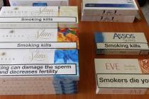 Сега пък във филтъра на циментовоз откриха контрабандни цигари