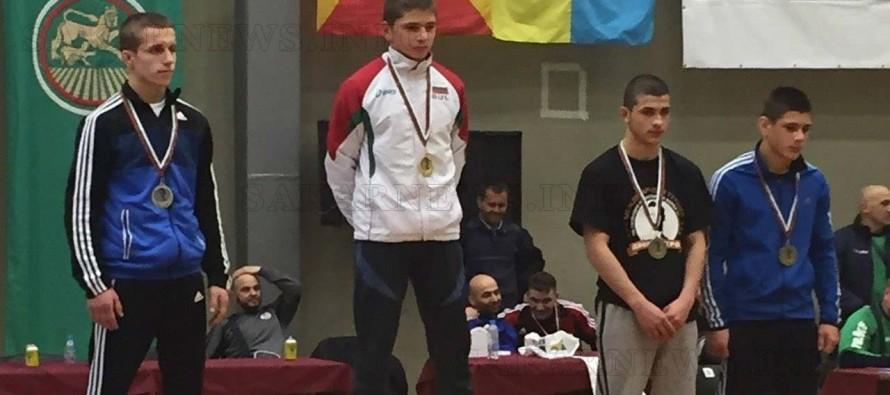 Диан Илчев с втори бронзов медал по борба