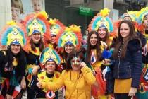 Маскирани харманлийци се  появиха на карнавала в Ксанти