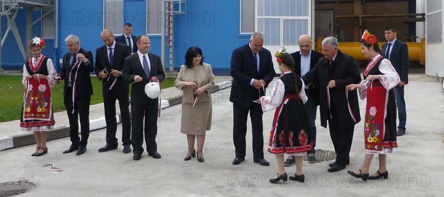 """Премиерът откри реконструираната компресорна станция """"Странджа"""" край Болярово"""
