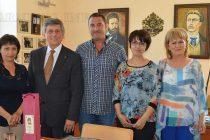 Посланик  Стоидис посети Тополовград