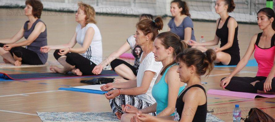 В Свиленград отбелязаха  Международния ден на йогата