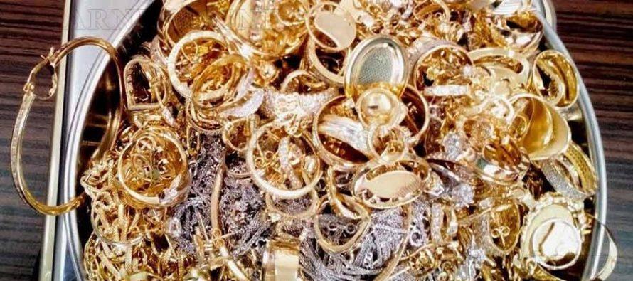 За две седмици на Капитан Андреево са задържани златни накити за 90 000 лева